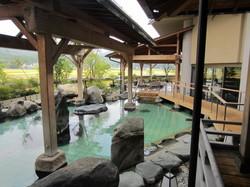 華鳳 能舞台檜風呂からの景色