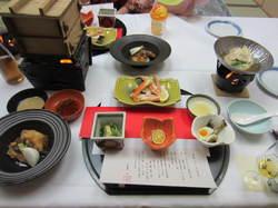 富士屋 夕食