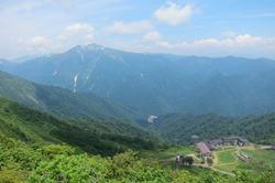 天神峠からの景色