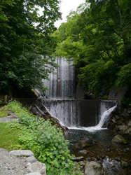 貝掛温泉 快眼の滝
