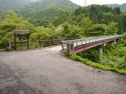 貝掛温泉への道