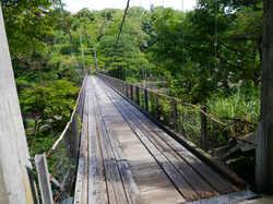 鷹ノ巣館 吊り橋