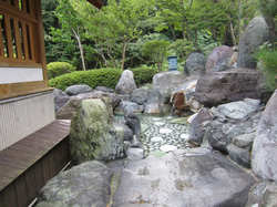 四万たむら 庭園露天風呂 「甌穴(おうけつ)」