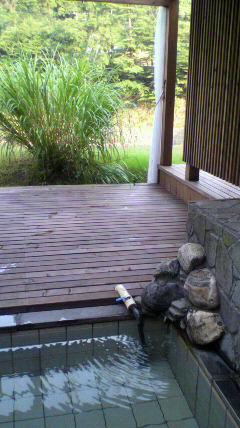 鷹の巣館 部屋露天風呂